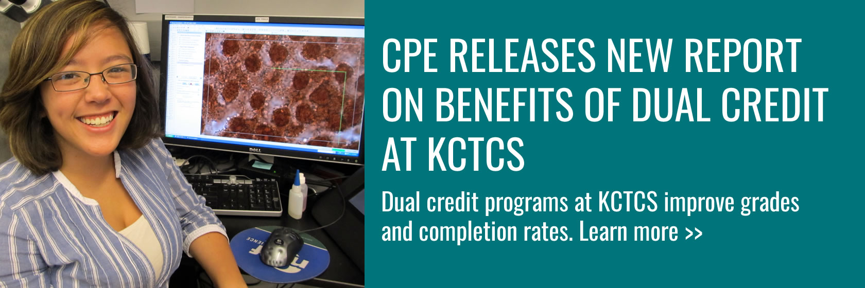 How does taking dual credit courses at KCTCS improve student success? CPE's latest report looks at outcomes and delves deep into the disparities in success based on race, gender and income.