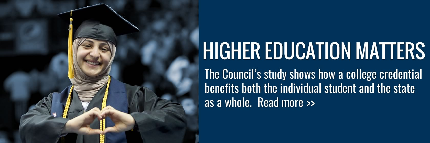 How does higher ed matter to Kentucky? Learn from the Council's report.