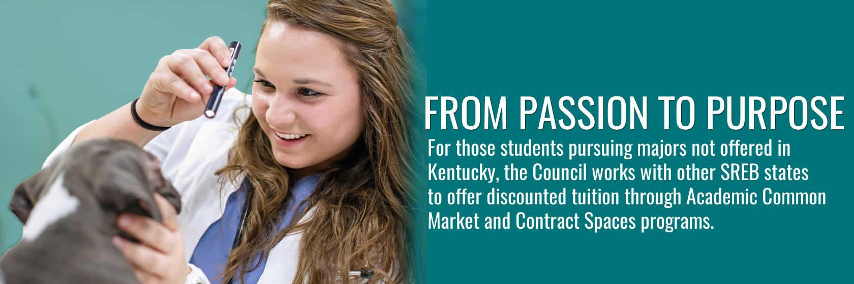Learn about out-of-state degree opportunities through the Academic Common Market and Contract Spaces programs.