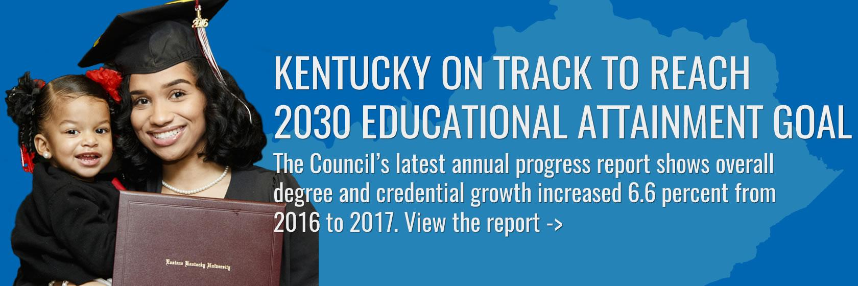 Read the latest progress report on postsecondary and adult education.