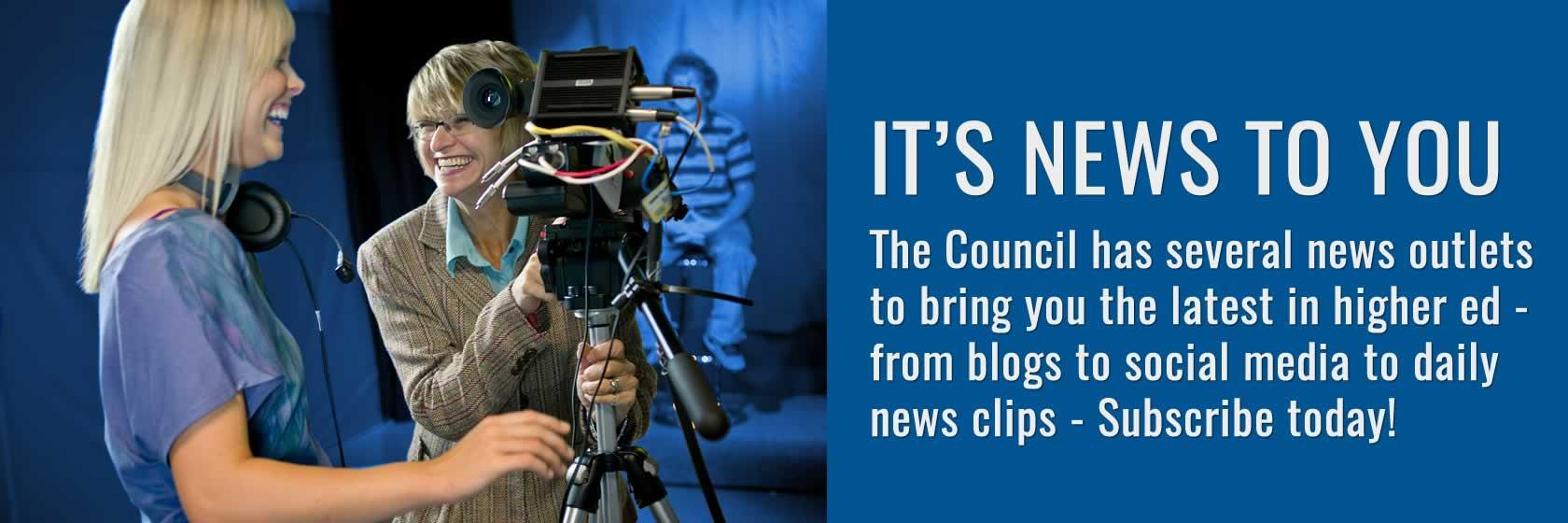 Subscribe to the Council's various communications.