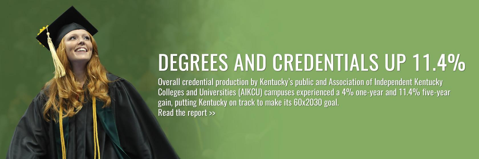 View the Council's degree and credential production report.