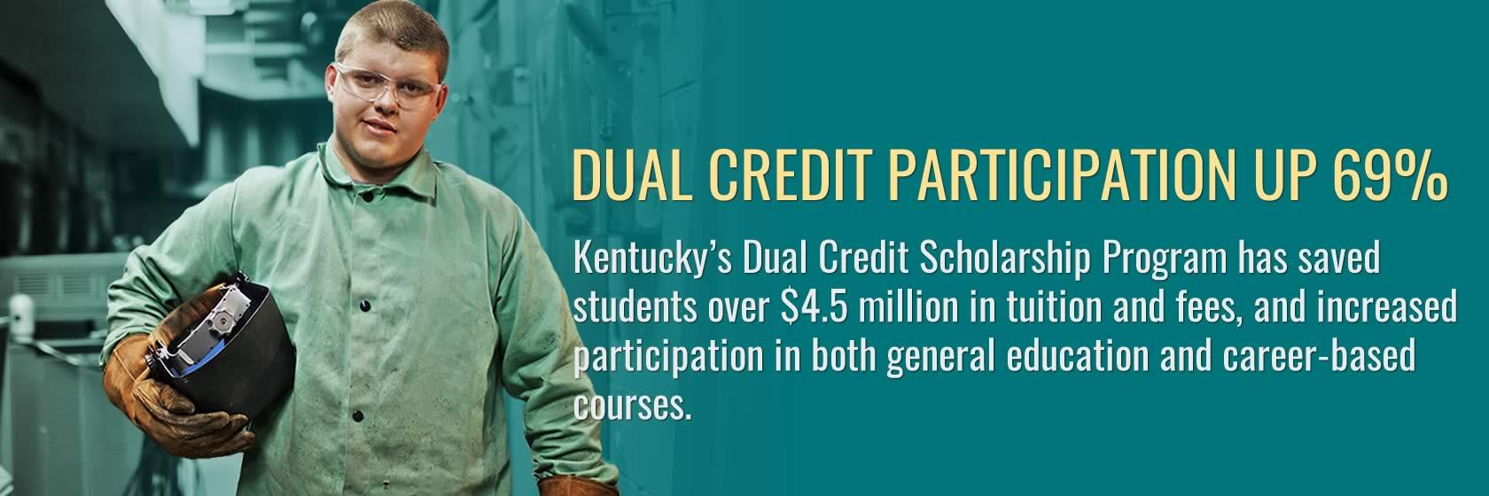 Learn about the success of Kentucky's dual credit program.