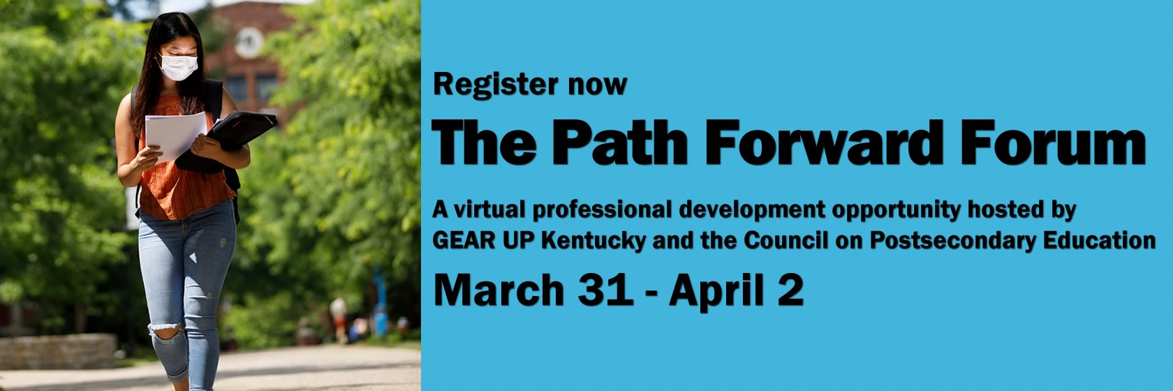 Register for The Path Forward Forum.